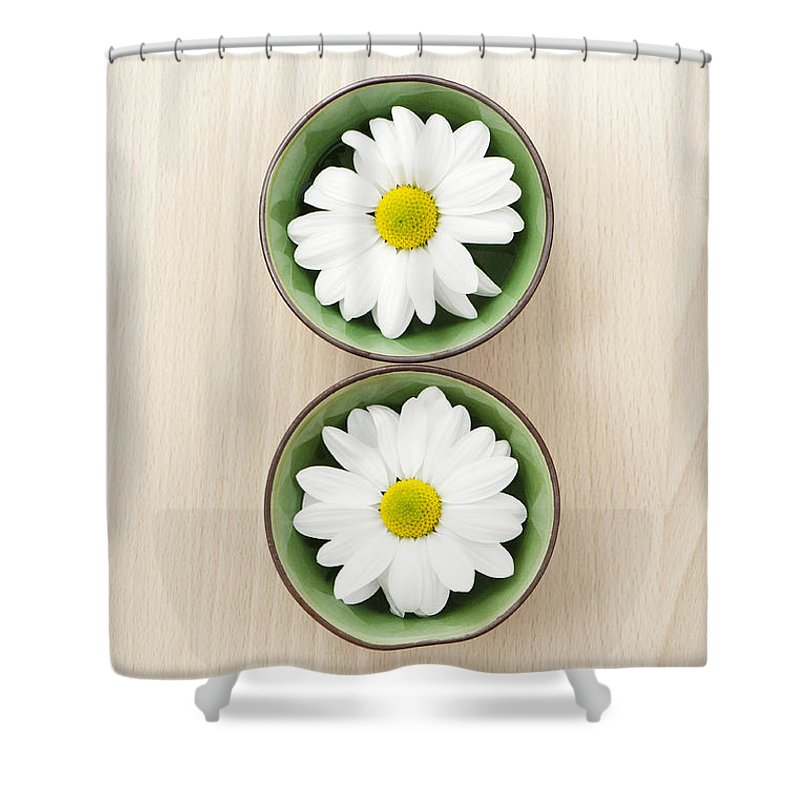2 Shower Curtain featuring the photograph Two by Anne Gilbert