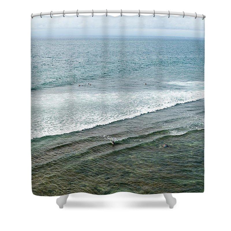 Tranquility Shower Curtain featuring the photograph Uluwatu, Bali by John Harper