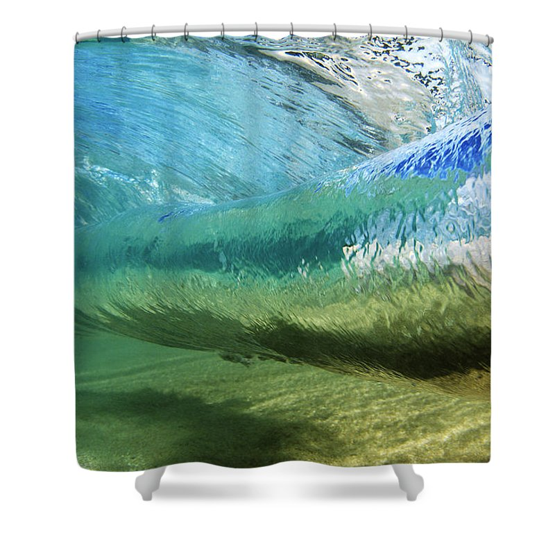 Underwater Wave Curl Shower Curtain for Sale by Vince Cavataio ...