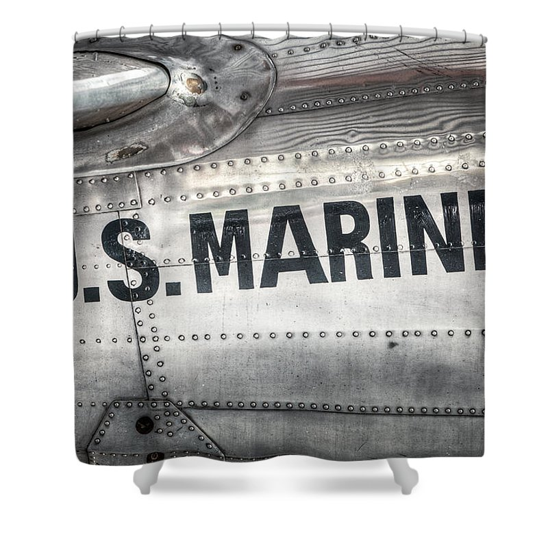 U.s. Marines Shower Curtains