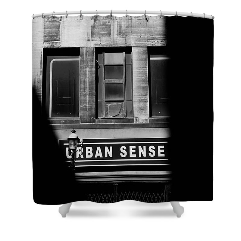 Toronto Shower Curtain featuring the photograph Urban Sense 1b by Andrew Fare
