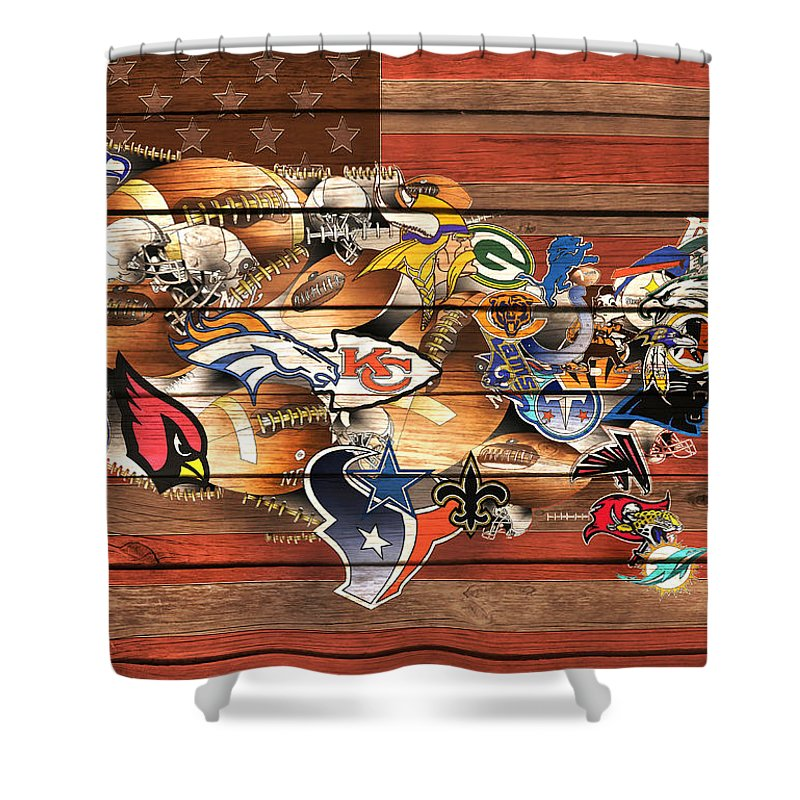Nfl Shower Curtains
