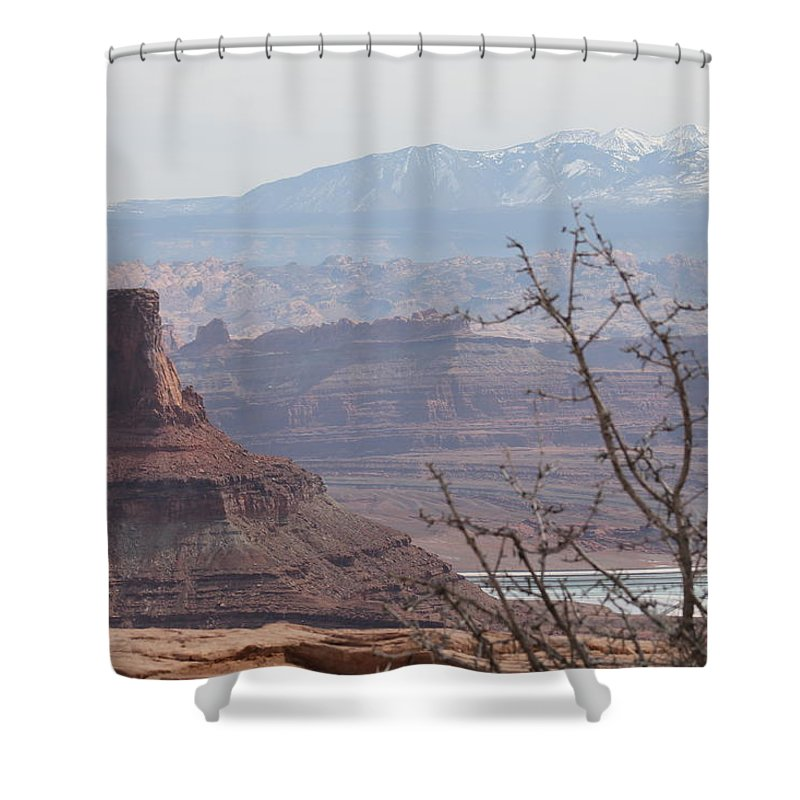 Utah Shower Curtain featuring the photograph Utah Landscape # 7 by G Berry