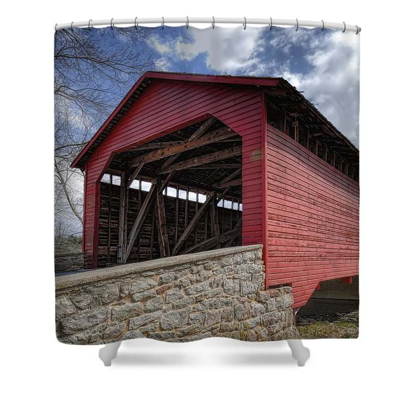 Maryland Scenery Photographs Shower Curtains