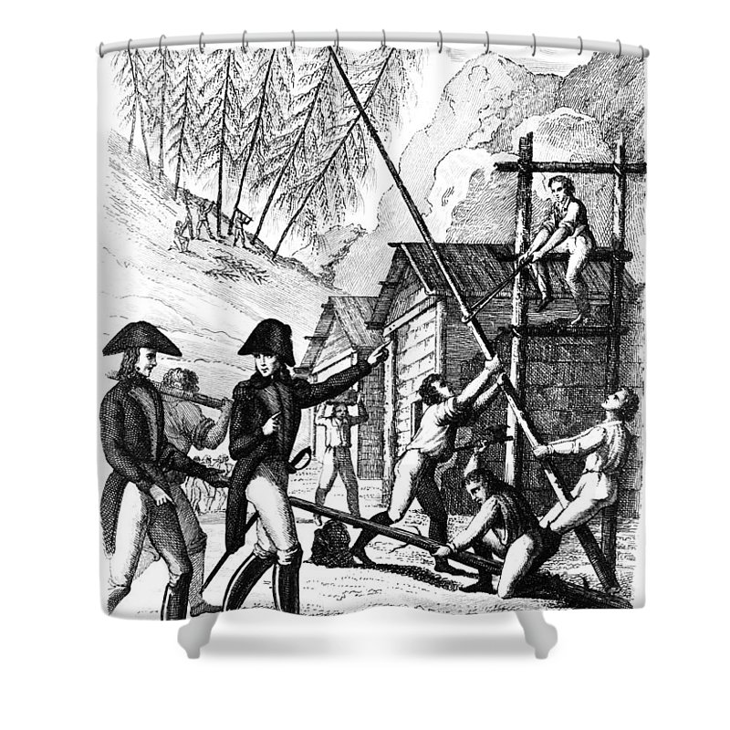 Gentil Valley Forge, 1777 Shower Curtain