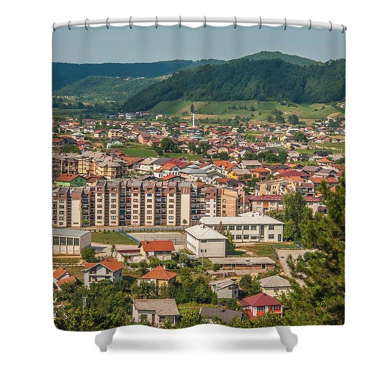 Velika Kladusa Shower Curtain featuring the photograph Velika Kladusa by Amel Dizdarevic