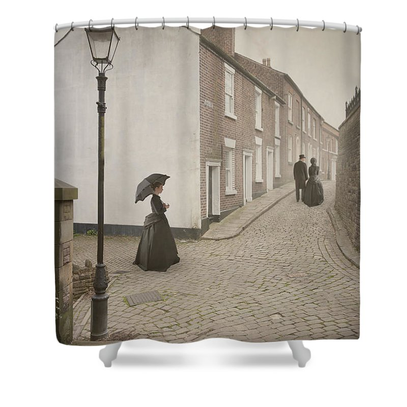 Victorian Shower Curtain featuring the photograph Victorian Life by Lee Avison