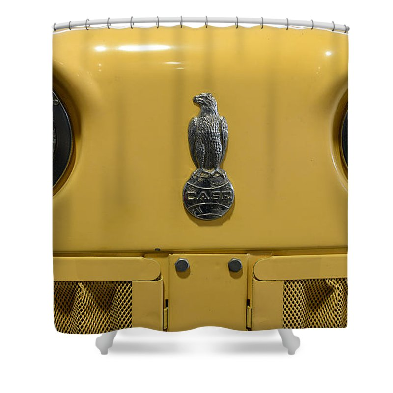 Paul Ward Shower Curtain featuring the photograph Vintage 1961 Case Tractor by Paul Ward
