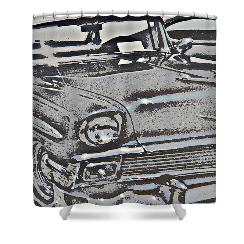Vintage Car I Shower Curtain For Sale By Cathy Anderson