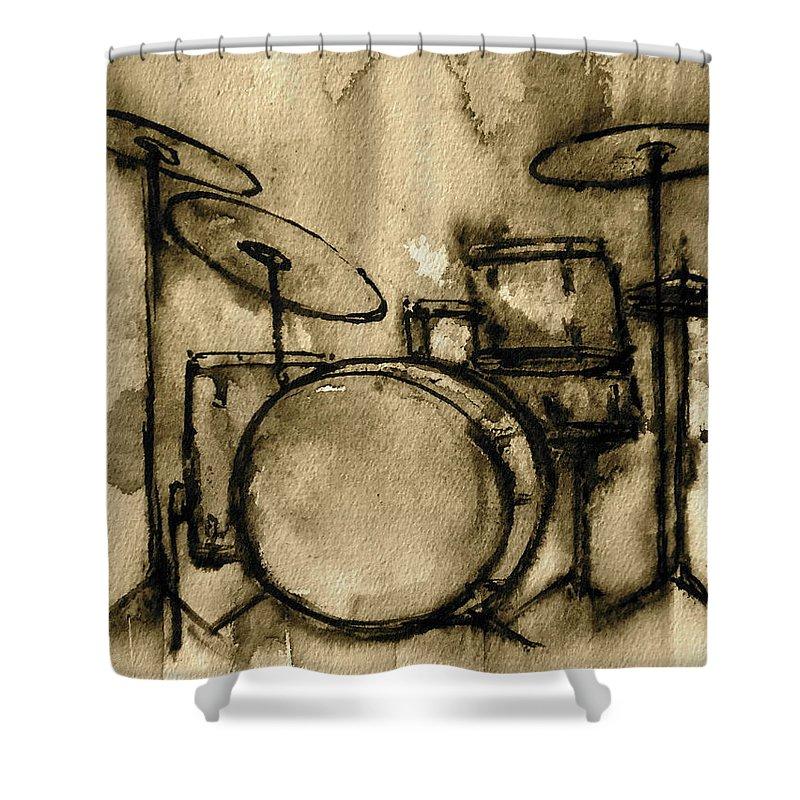 Drum Shower Curtains