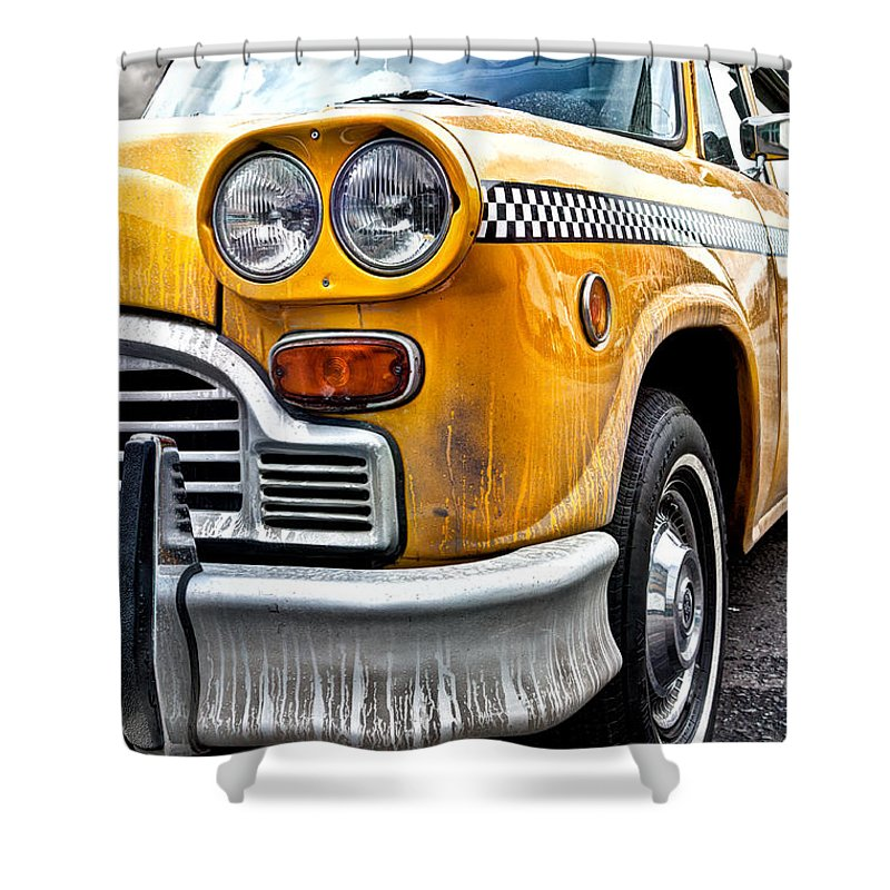 New York City Taxi Shower Curtains