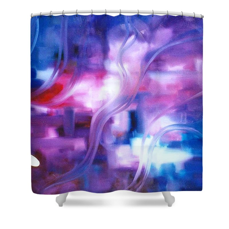 Lyle Shower Curtain featuring the painting Virgil by Lord Frederick Lyle Morris - Disabled Veteran