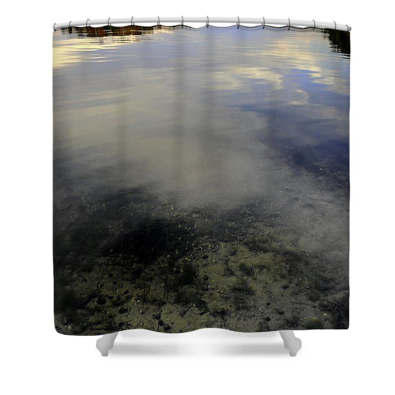 Usa Shower Curtain featuring the photograph Wanigan View Below Above And Beyond by LeeAnn McLaneGoetz McLaneGoetzStudioLLCcom