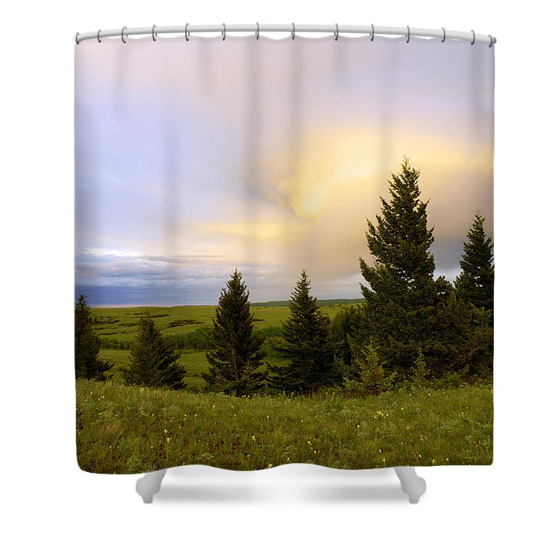 Waterton Lakes National Park Shower Curtains