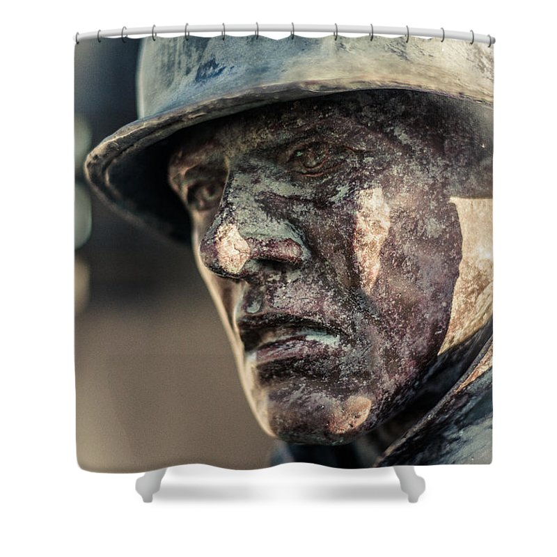 Florida Shower Curtain featuring the photograph Wartime Thoughts by Jon Cody