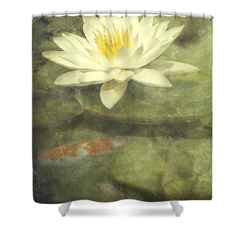 Lilies Photographs Shower Curtains