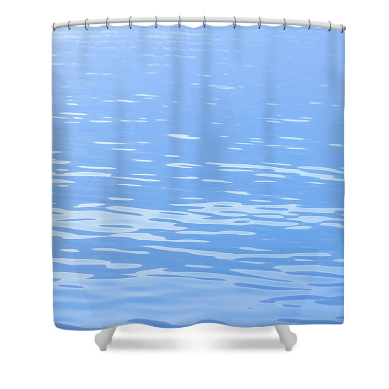 Standing Water Shower Curtain featuring the photograph Water Surface Background by Mmac72
