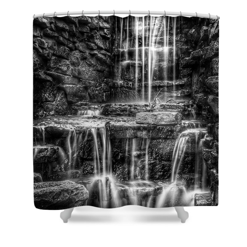 Waterfall Shower Curtain featuring the photograph Waterfall by Scott Norris