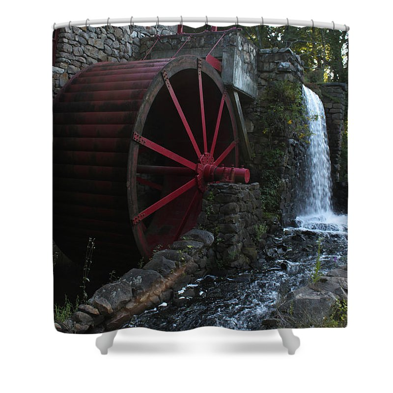Photograph Shower Curtain featuring the photograph Wayside Inn II by Suzanne Gaff