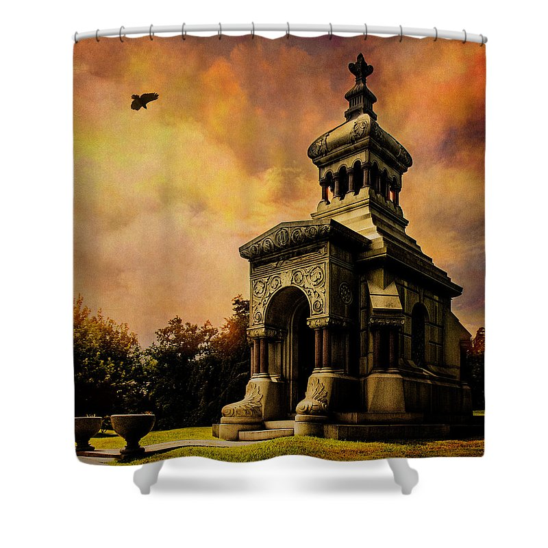 Eastern Shower Curtain featuring the photograph What The Doctor Built by Chris Lord