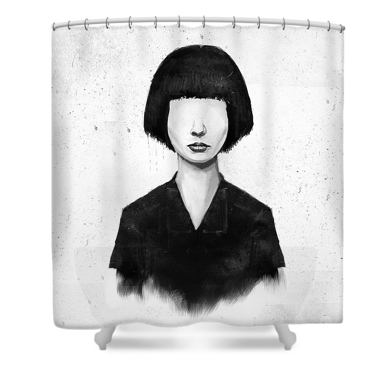 Black And White Shower Curtains