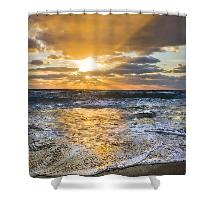 Clouds Shower Curtain featuring the photograph Whipped Cream by Debra and Dave Vanderlaan