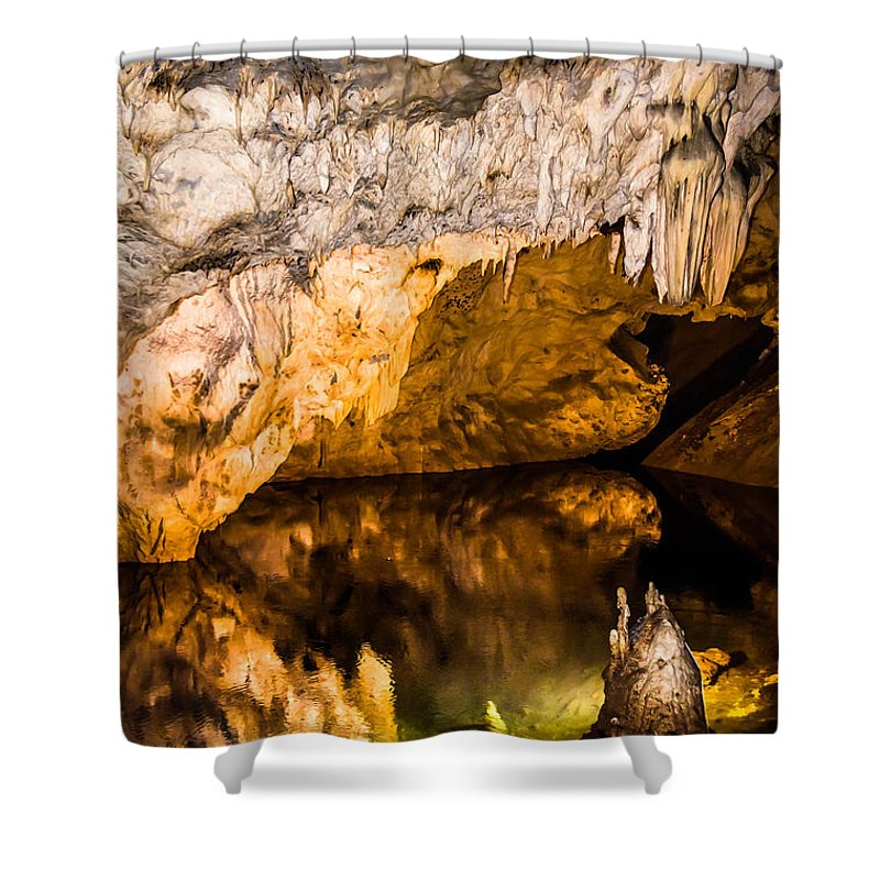 Matka Shower Curtain featuring the photograph Whispers by Sotiris Filippou