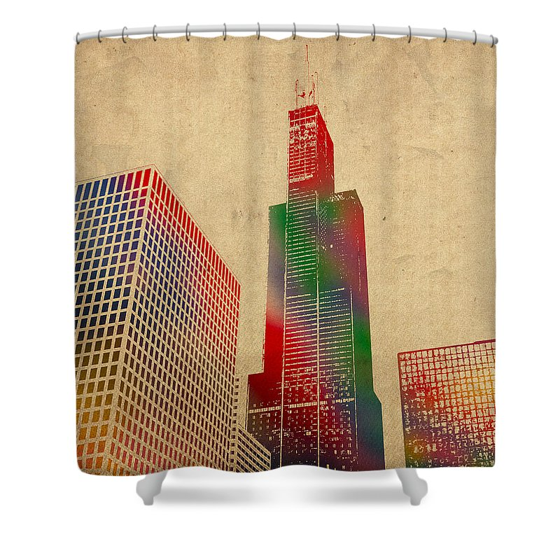 Sears Tower Shower Curtains