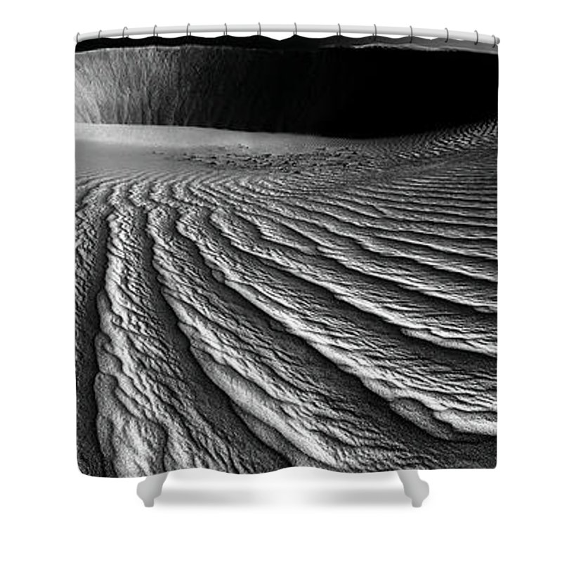 Ripples Shower Curtain featuring the photograph Wind Sand Light And Time by Julian Cook