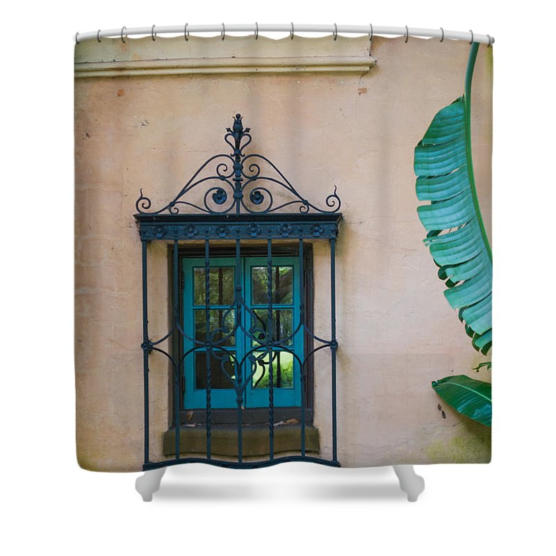 susan Molnar Shower Curtain featuring the photograph Window To The Past by Susan Molnar