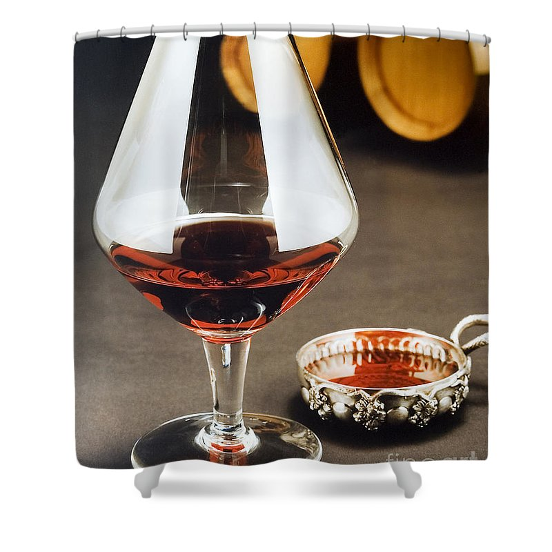 Wine Shower Curtain featuring the photograph Wine Tasting by Jerry McElroy