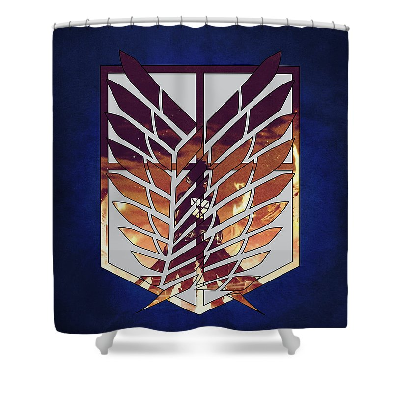 Wings Of Freedom Shower Curtain For Sale By Danilo Caro