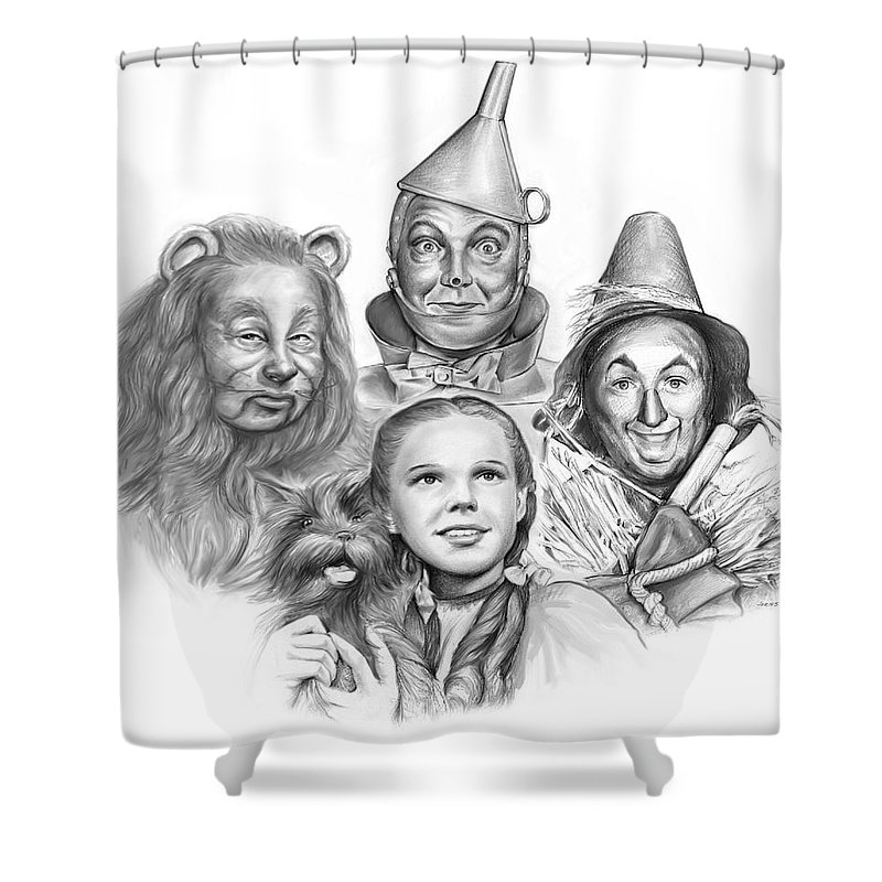 Wizard Of Oz Shower Curtain For Sale By Greg Joens
