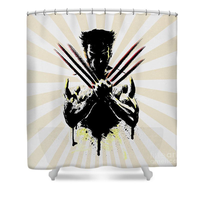 Figurative Shower Curtains
