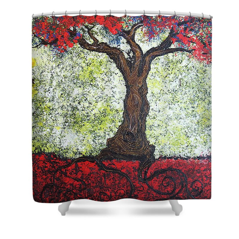 Impressionism Shower Curtain featuring the painting Would She by Stefan Duncan