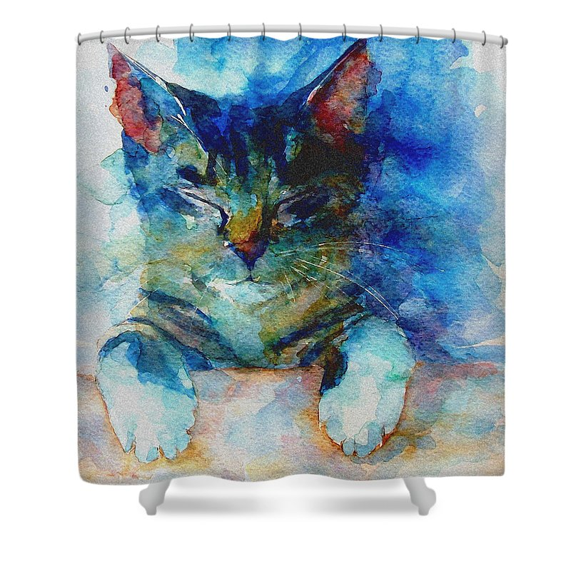 Feline Shower Curtains