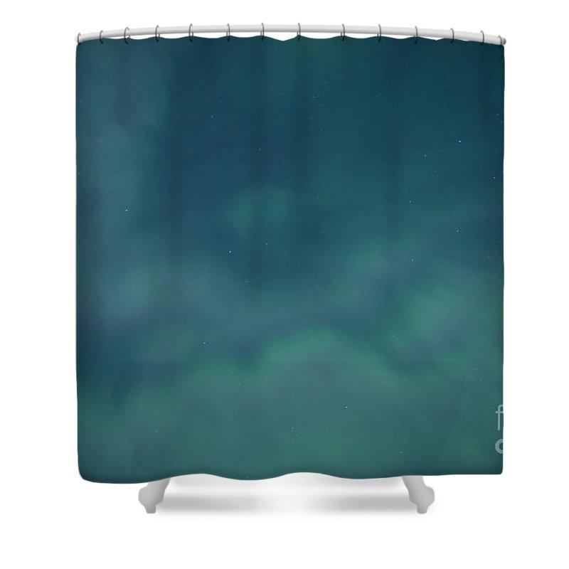 Breakup Shower Curtain featuring the photograph Aurora Breakup by Yuichi Takasaka