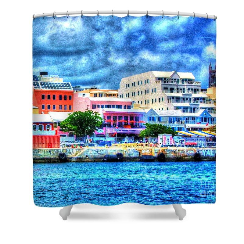 Bermuda Shower Curtain featuring the photograph Beautiful Bermuda by Debbi Granruth