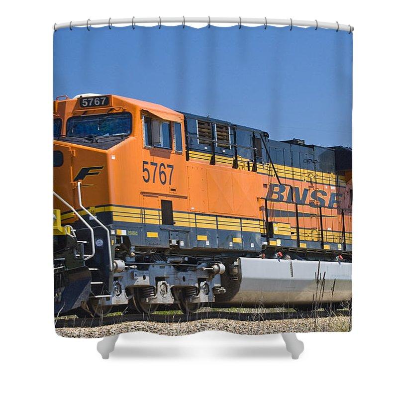 Bnsf Es44ac Shower Curtain