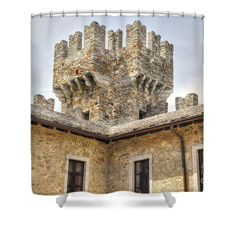 Castle Shower Curtain featuring the photograph Castle by Mats Silvan