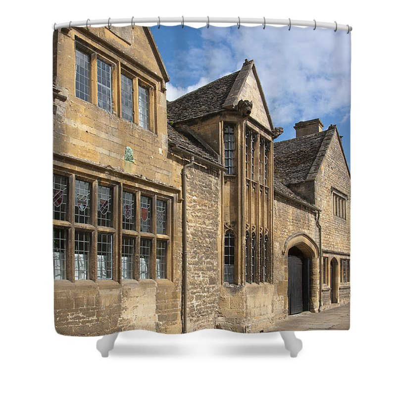 Chipping Campden Shower Curtain featuring the photograph Chipping Campden by Andrew Michael