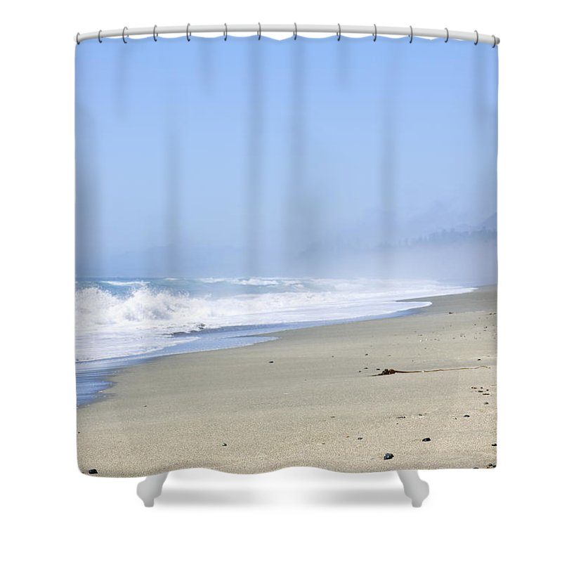 Pacific Shower Curtain featuring the photograph Coast Of Pacific Ocean In Canada by Elena Elisseeva
