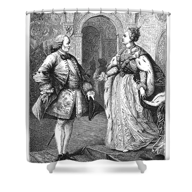 1773 Shower Curtain featuring the photograph Denis Diderot (1713-1784) by Granger
