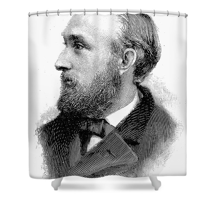 19th Century Shower Curtain featuring the photograph Edward Charles Pickering by Granger