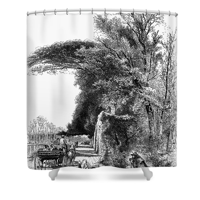 1875 Shower Curtain featuring the photograph Italy: Florence, C1875 by Granger