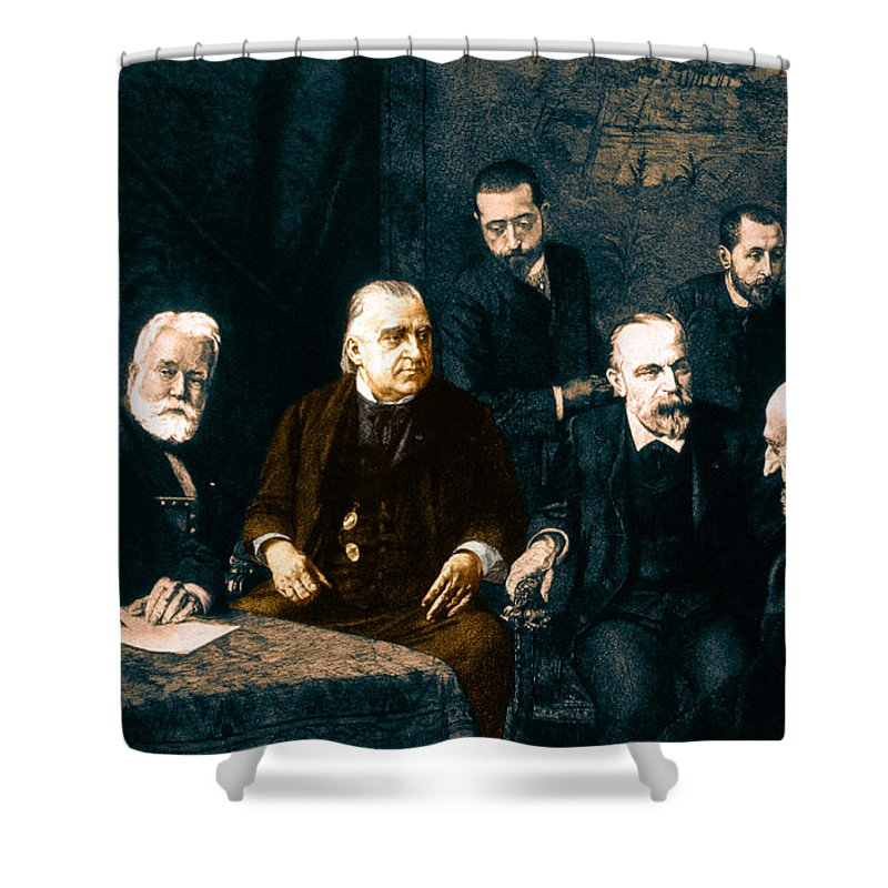History Shower Curtain featuring the photograph Jean-martin Charcot, French Neurologist by Science Source