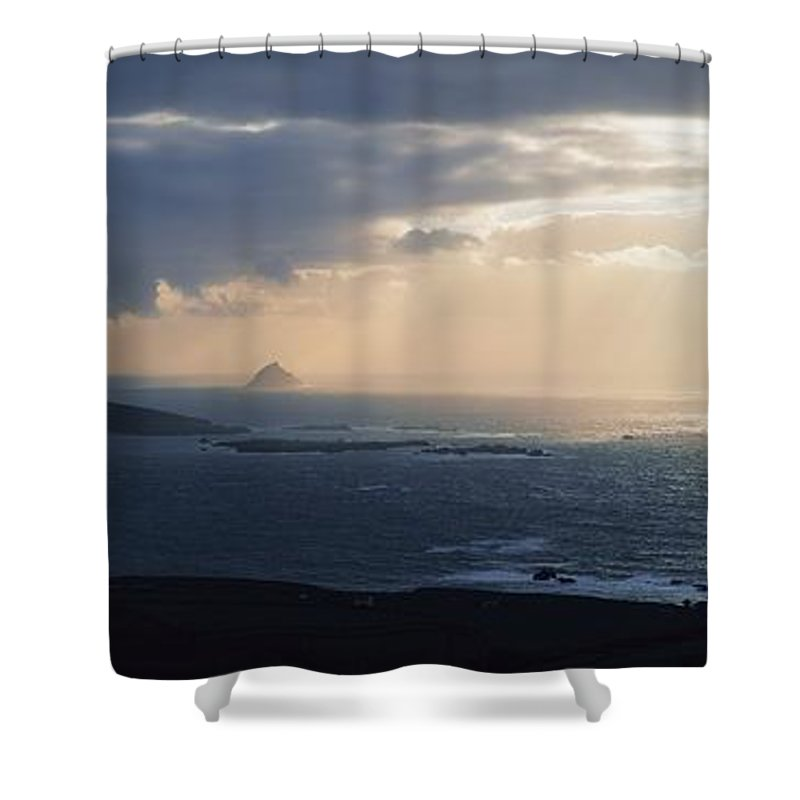 Bay Shower Curtain featuring the photograph Kenmare Bay, Co Kerry, Ireland by The Irish Image Collection