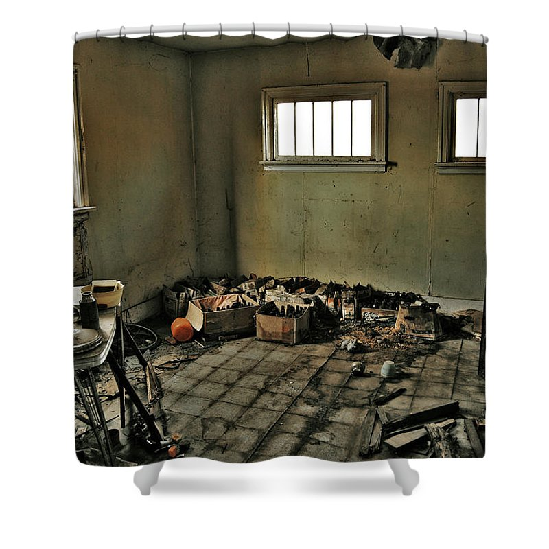 Photographer Shower Curtain featuring the photograph Kitchen Of Capture by The Artist Project