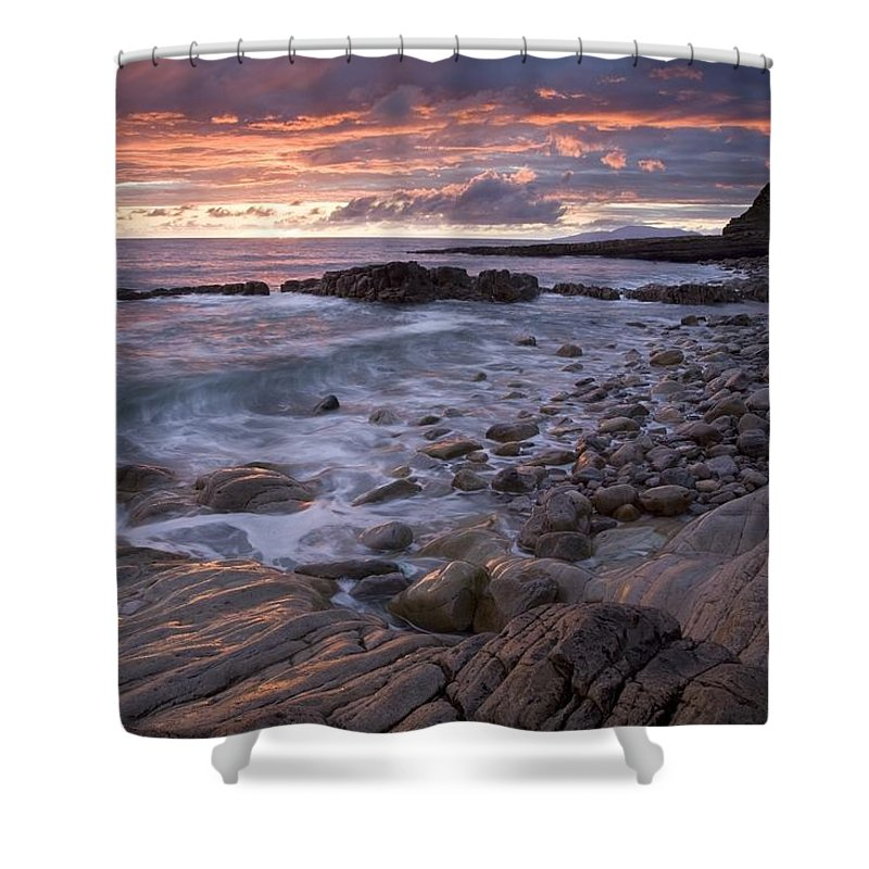 Outdoors Shower Curtain featuring the photograph Mullaghmore Head, Co Sligo, Ireland by Gareth McCormack