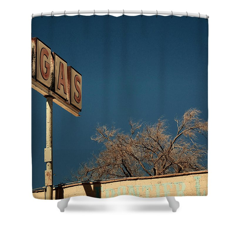 Aurica Voss Shower Curtain featuring the photograph Route 66 by Aurica Voss